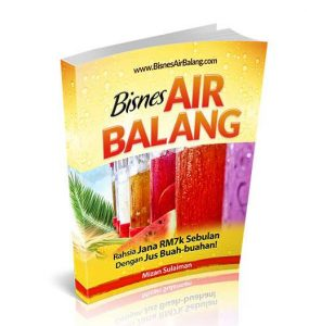 cara bisnes air balang part time
